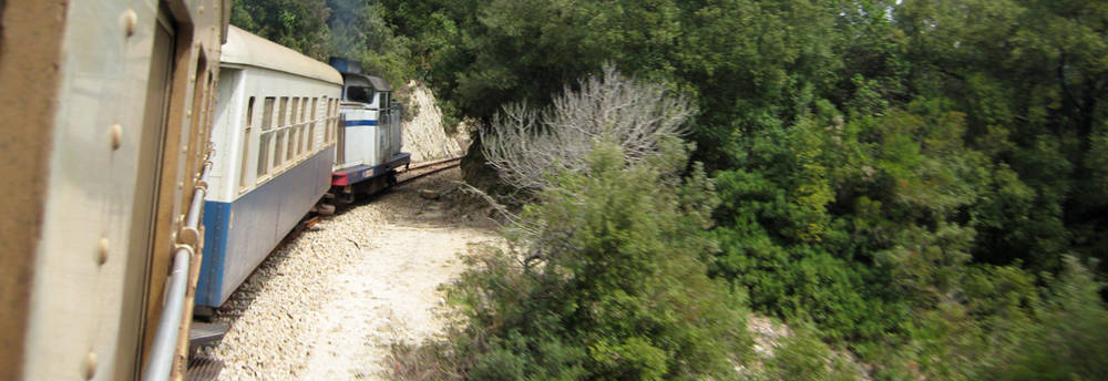 An image for the category Travel by train in Sardinia