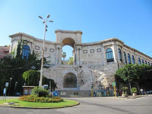 The turistic city of Cagliari