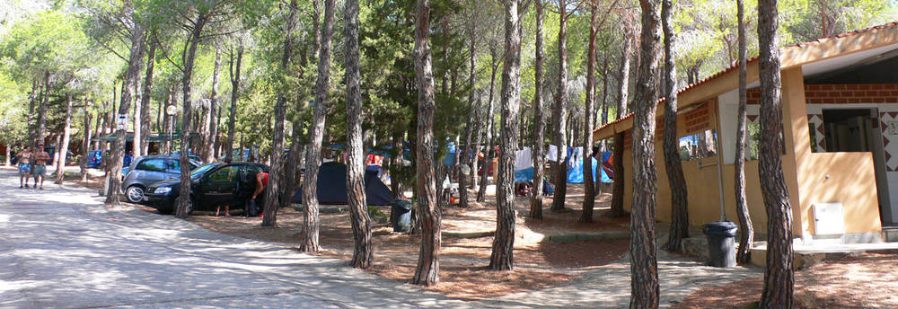 Image of a camping in Sardinia
