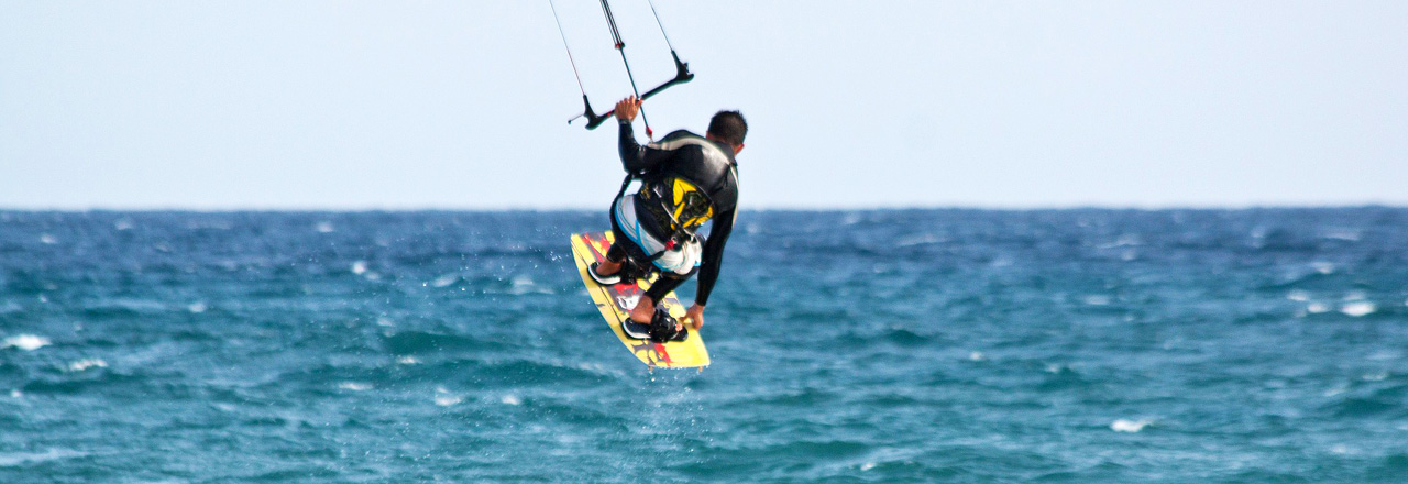 Image of Kitesurf and Surf in Sardinia