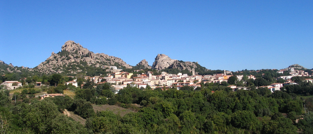 Image of the city of Aggius