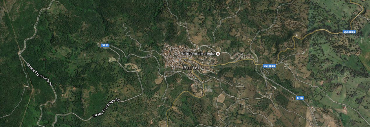 Image of the city of Bultei