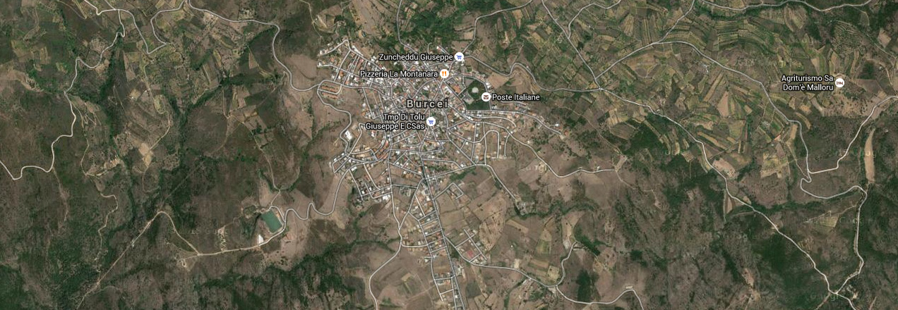 Image of the city of Burcei