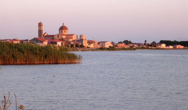 Image of the city of Cabras