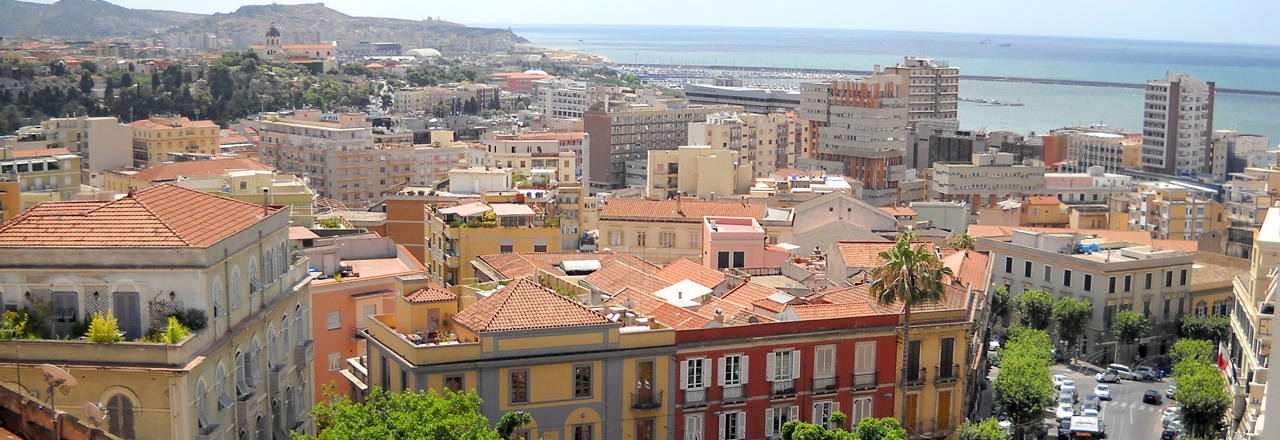 Image of the city of Cagliari