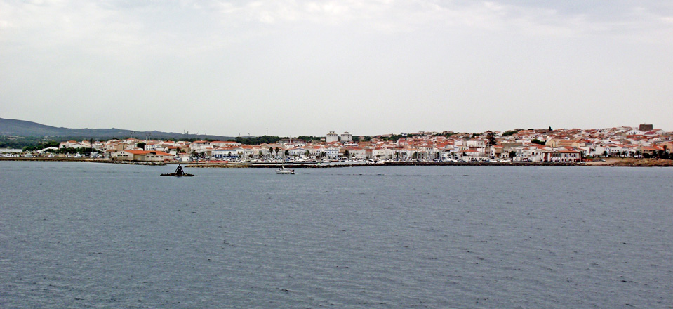 Image of the city of Calasetta