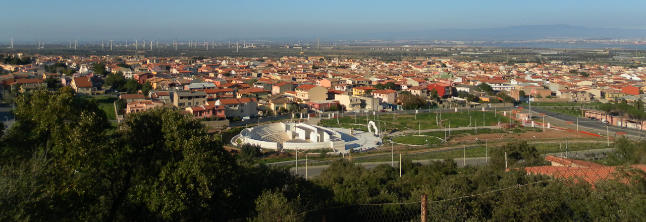 Image of the city of Capoterra