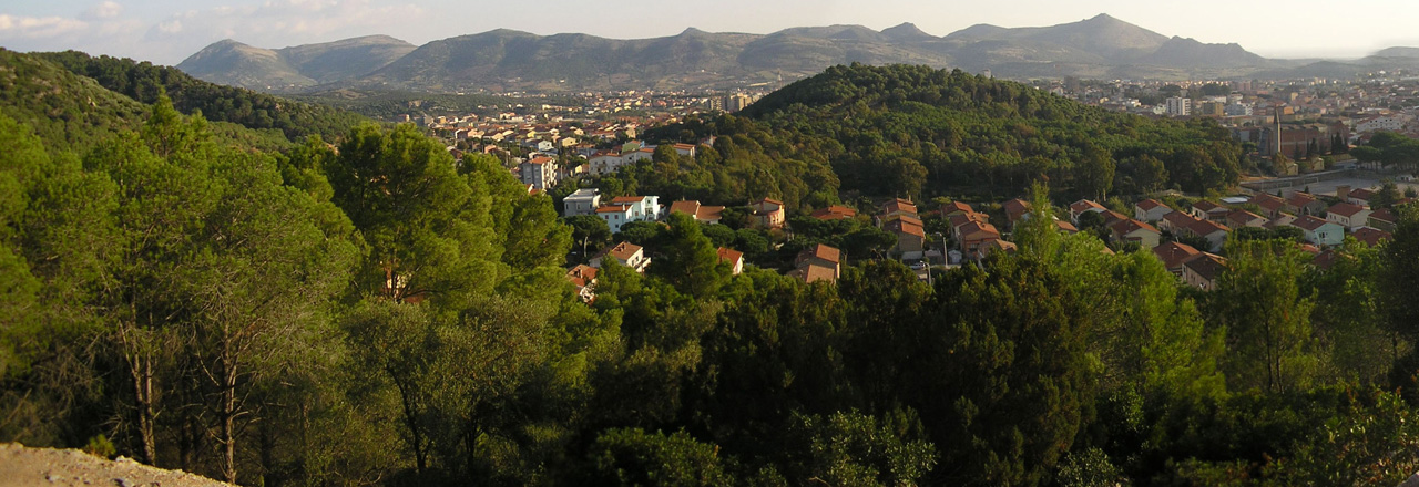 Image of the city of Carbonia
