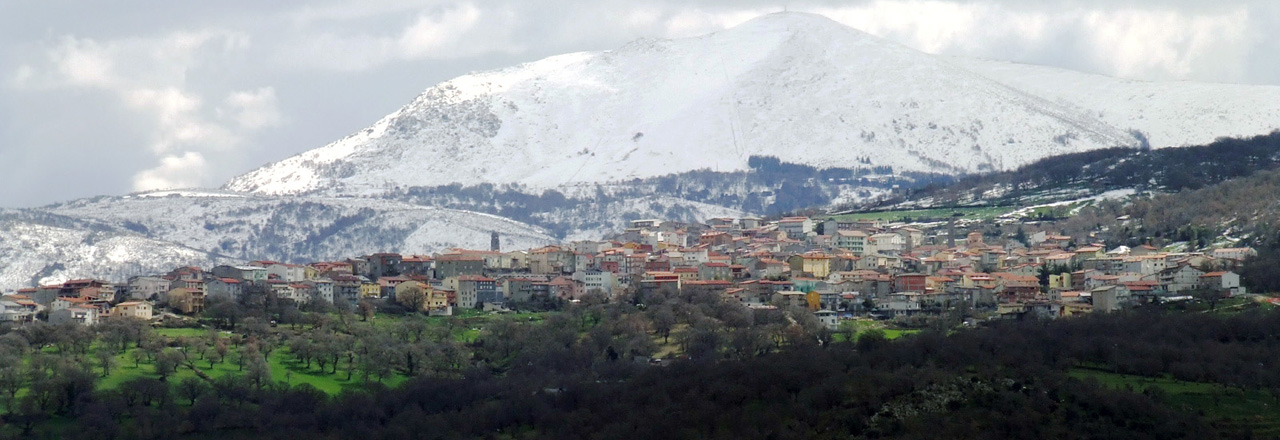 Image of the city of Fonni