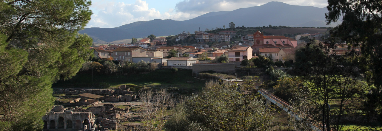 Image of the city of Fordongianus