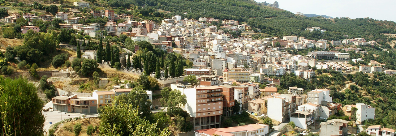Image of the city of Jerzu