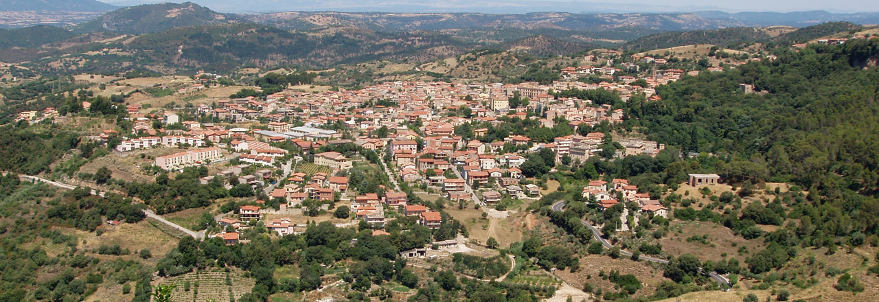 Image of the city of Laconi