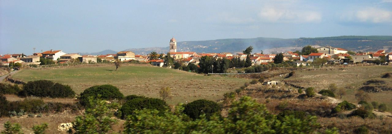 Image of the city of Nuragus