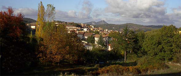 Image of the city of Ollolai