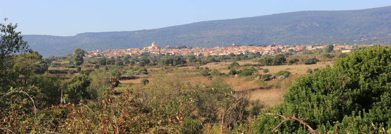 Image of the city of Seneghe
