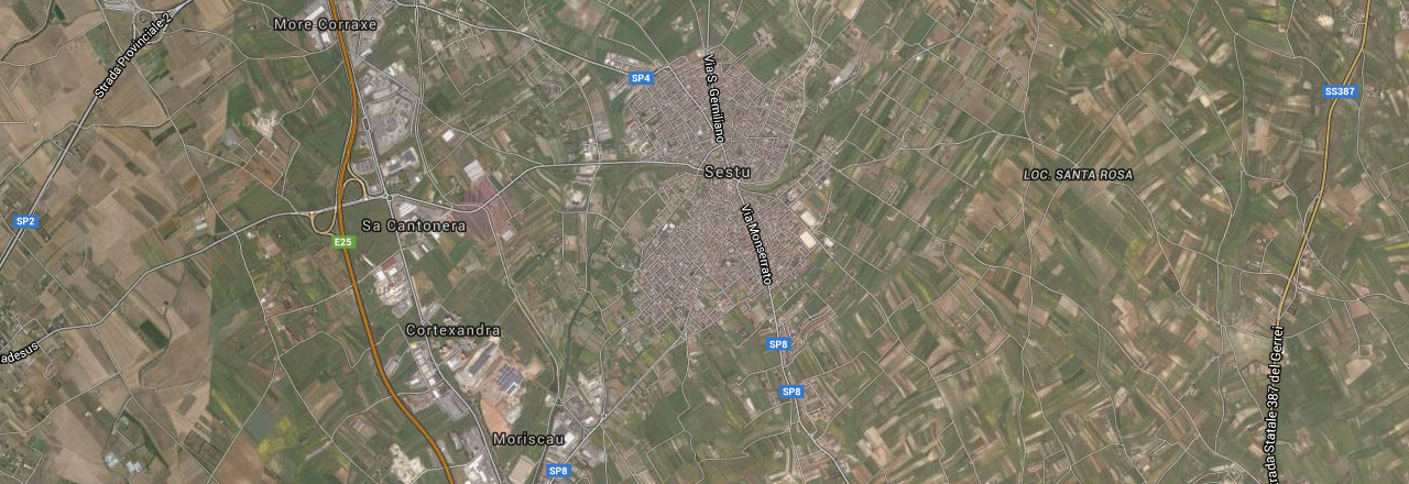 Image of the city of Sestu